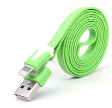 Flat Noodel Shape Cable for iPhone 6/iPhone 5