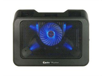 Single Fan Cooling Pad with 2 USB Ports